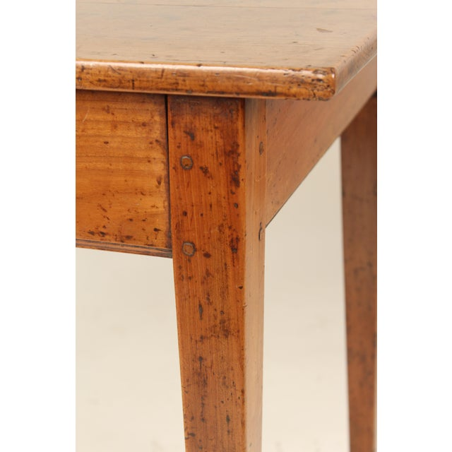 Wood 19th Century Neoclassical Fruit Wood Occasional Table For Sale - Image 7 of 12