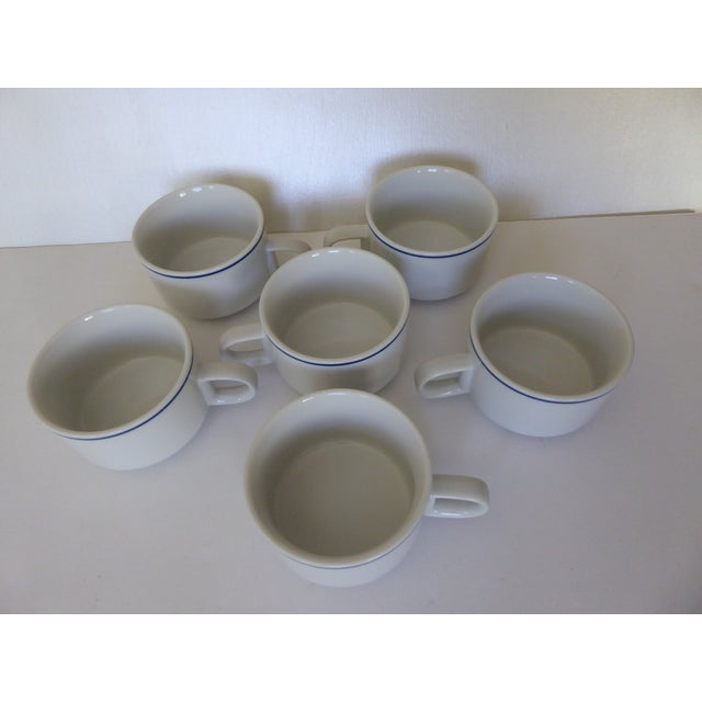 1973 American Airlines Coffee/Tea Cups - Set of 6 For Sale - Image 5 of 7
