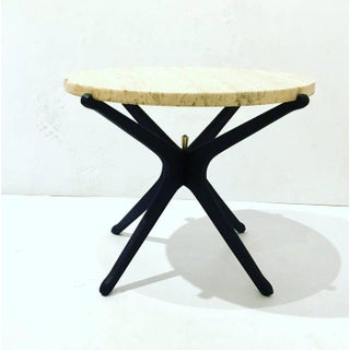 Italian Mid-Century Modern Star Base Small Cocktail Table Preview