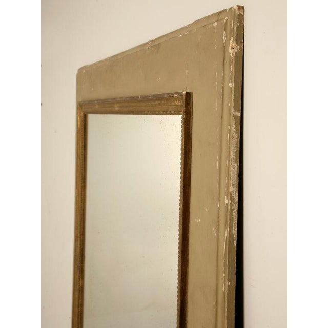 Circa 1880 French Painted Trumeau Mirror For Sale - Image 11 of 12