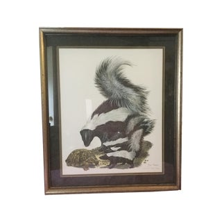 """Skunks"" by Ray Harm, Limited Edition Print"