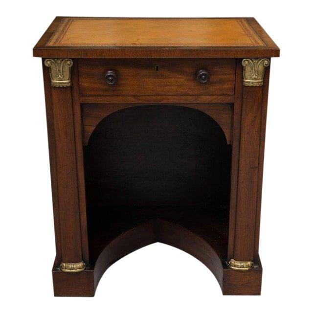 19th Century Mahogany Knee Hole Desk For Sale