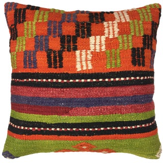 "Rug & Relic Kilim Pillow   16"""