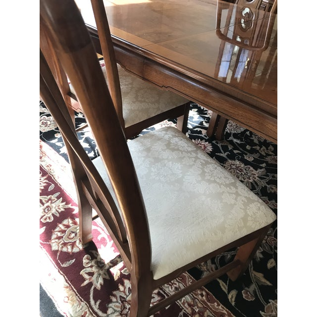 Thomasville Thomasville Mystique Dining Room Set For Sale - Image 4 of 5