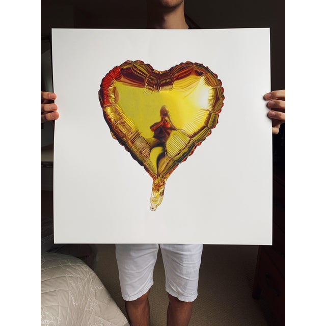 Contemporary Mirrored Heart Limited Edition Print by Jack Verhaeg For Sale - Image 3 of 4