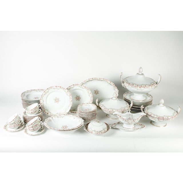 Antique European Dinner Service for Eight For Sale In New York - Image 6 of 6