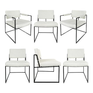 1971 Milo Baughman Thayer Coggin Dining Chairs - Set of 6 For Sale