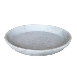 White Marble Plate For Sale