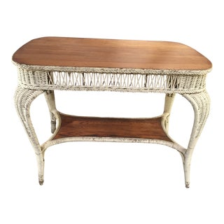 Wicker Dining Table For Sale