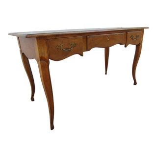 Baker Milling Road Writing Desk with Locking Drawer
