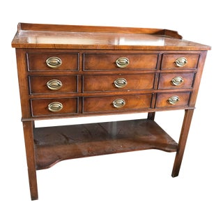 20th Century American Classical Sideboard Buffet Server For Sale