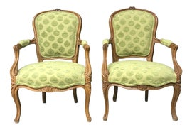Image of Kelly Green Side Chairs
