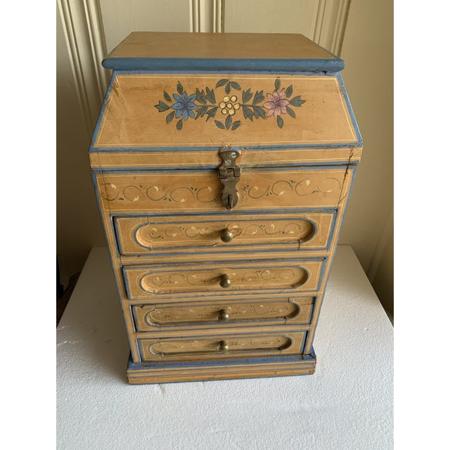 Boho Rustic Chic Jewelry Organizer Box For Sale - Image 11 of 13