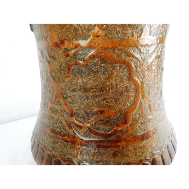 Large Moorish Copper & Pewter Pail For Sale In Orlando - Image 6 of 10