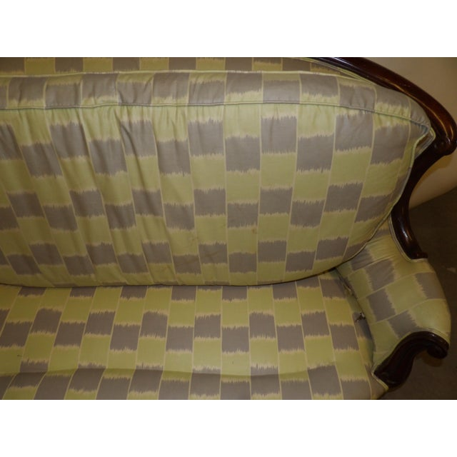 Early 20th Century Antique Settee For Sale - Image 4 of 11