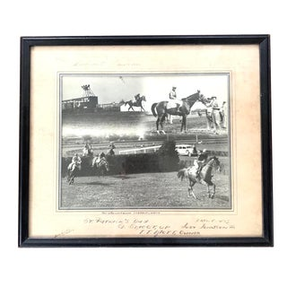 Race Horse Winners Portrait Photo 1943 For Sale