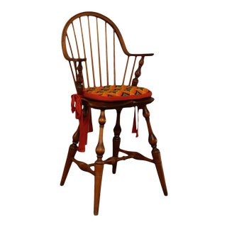 D. R. Dimes Continuous Arm Windsor High Chair For Sale