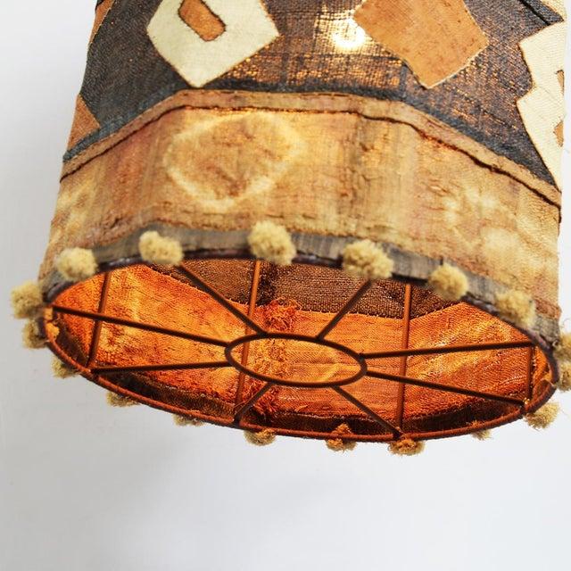 Kuba Cloth Pendant Lamp - Image 3 of 4