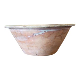 Early 20th Century Earthenware Bowl For Sale