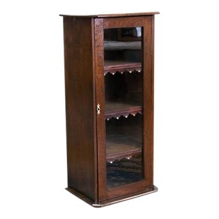 19th Century English Four Tiered Bookcase For Sale