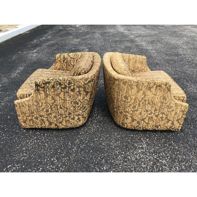 """Bernhardt """"Flair"""" Club Chairs - a Pair For Sale In New York - Image 6 of 11"""