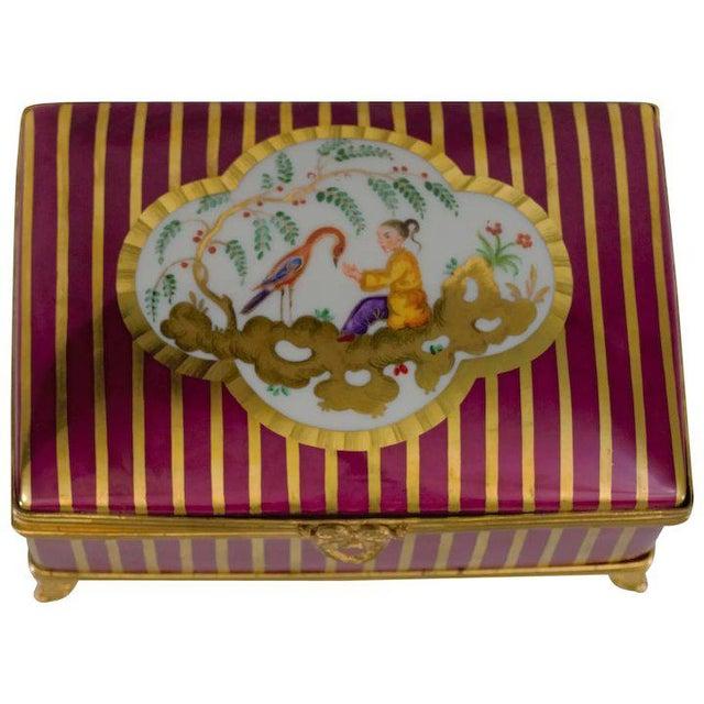 Atelier LeTallec Laque de Chine Porcelain Box For Sale - Image 12 of 12
