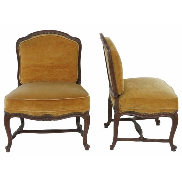 French Style Louis XVI Style Chairs - A Pair - Image 1 of 6