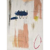 "Image of ""There and Here and Within"" Contemporary Abstract Expressionist Mixed-Media Painting by Brian Jerome For Sale"