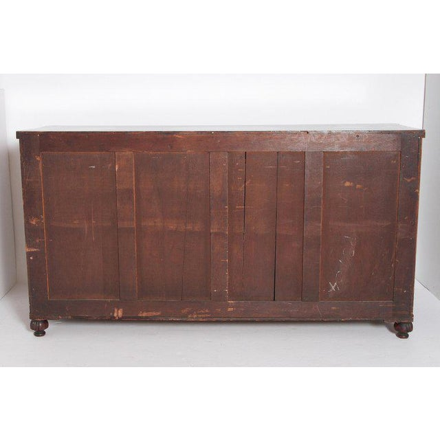 Early 19th Century Regency Bookmatched Crotch Mahogany Cabinet For Sale - Image 12 of 13