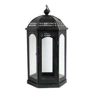 Ball Top Iron Lantern For Sale