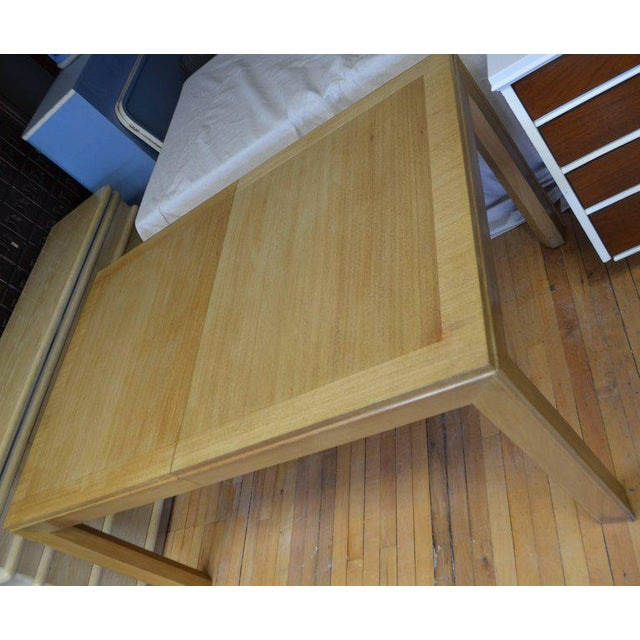 Mid-Century Modern Dining Table With Two Leaves Designed by Robsjohn-Gibbings for Widdicomb For Sale - Image 3 of 13