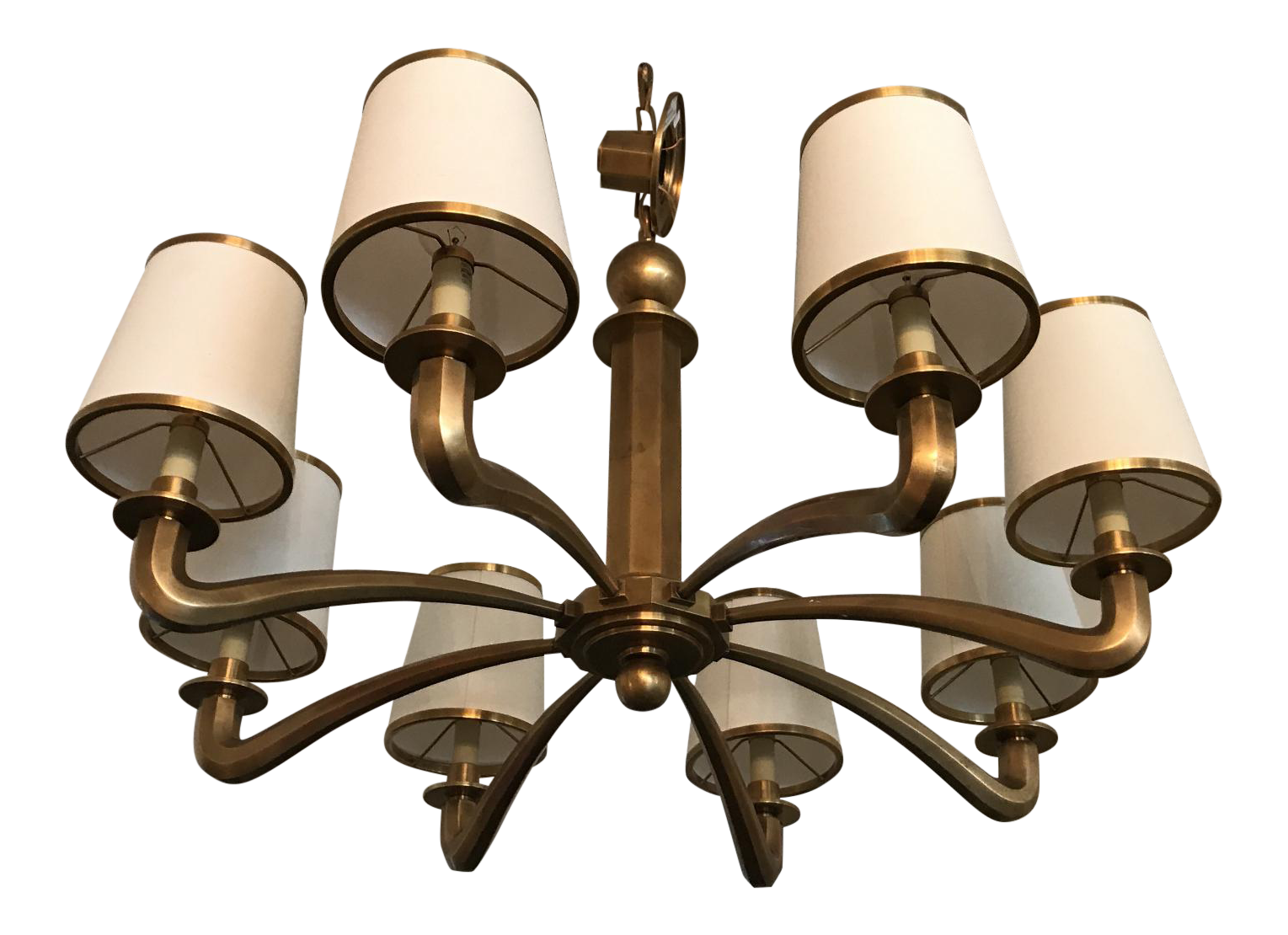 Visual Comfort Tuileries Brass Chandelier