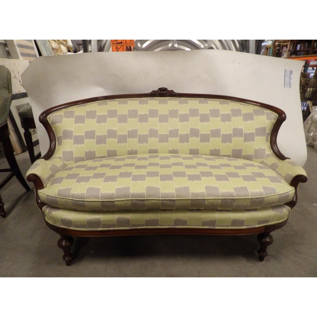 Early 20th Century Antique Settee For Sale - Image 11 of 11