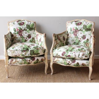 Pair of Diminutive Painted French Bergères Preview