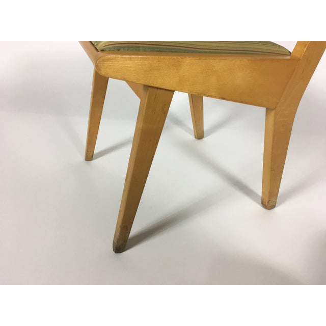 1950s 1950s Mid-Century Modern Jens Risom Knoll Side Chair For Sale - Image 5 of 10