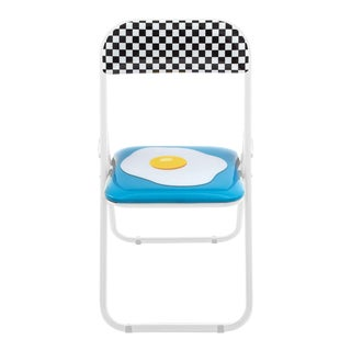 Seletti, Egg Folding Chair, Set of Four, Studio Job, 2018 For Sale