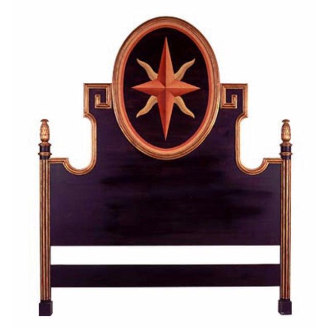 Las Palmas Collection Italian Queen Headboard For Sale - Image 4 of 4