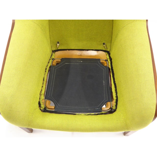 1970s Vintage Bill Stephens For Knoll International Club Lounge Chair For Sale - Image 12 of 12