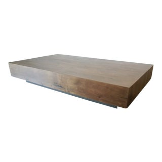 Ozshop Antique French Attic Board Coffee Table For Sale