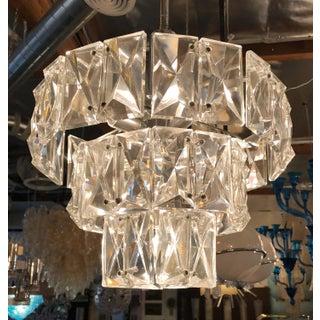 1960s Vintage Kinkeldey Faceted Crystals Pendant Preview