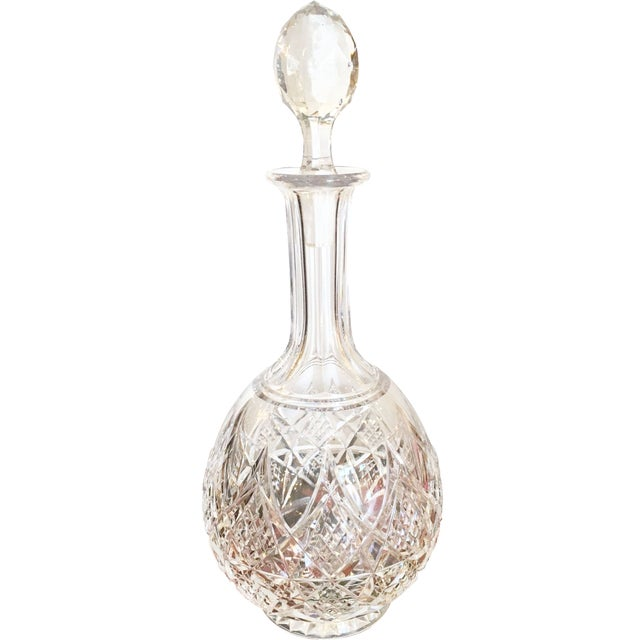 Baccarat Cut Crystal Lagny Decanter - Image 1 of 4