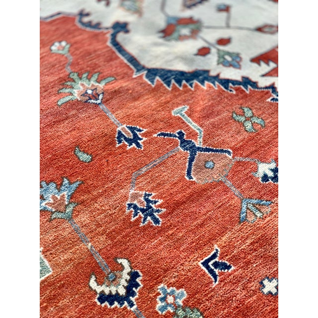 1990s 1990s Persian Serapi Rug - 10′ × 13′9″ For Sale - Image 5 of 13