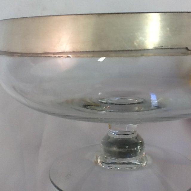 Mid-Century Dorothy Thorpe Stem-Footed Bowl - Image 4 of 5
