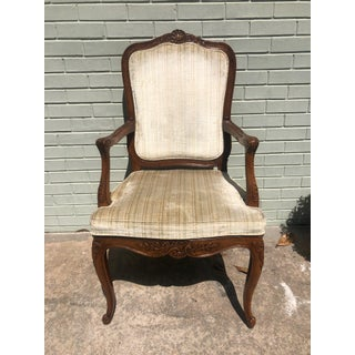 1960s French Wooden Dining Chairs - Set of 6 Preview