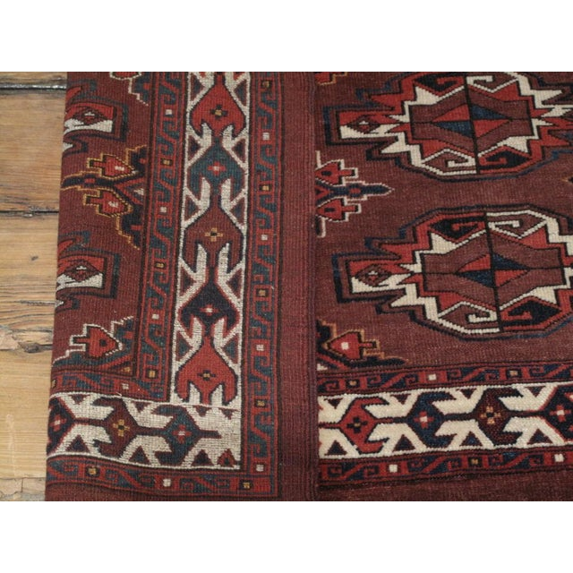 """Mid 19th Century Antique Turkmen """"Chuval"""" For Sale - Image 5 of 7"""