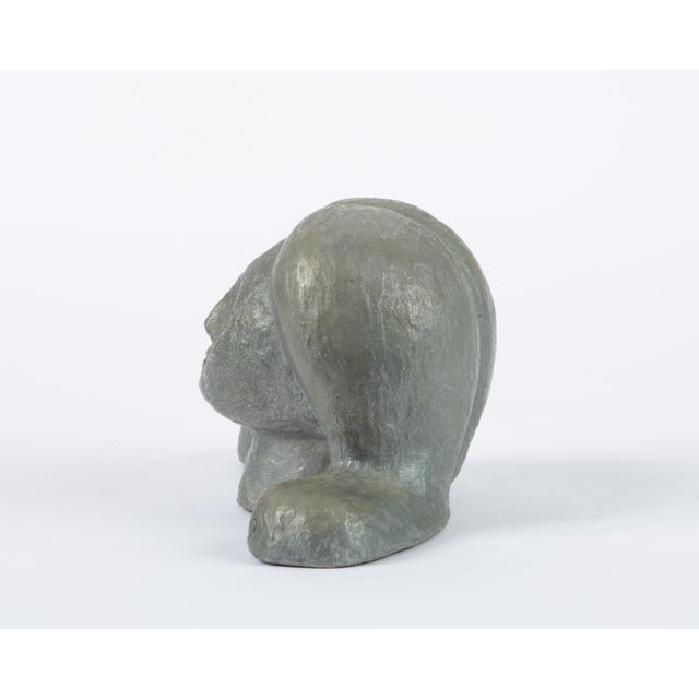 1960s Alexa Acuña Plaster Bust of a Young Child For Sale - Image 5 of 11