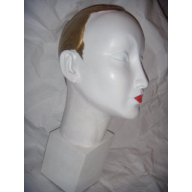 Art Deco Style Mannequin Head For Sale - Image 4 of 9