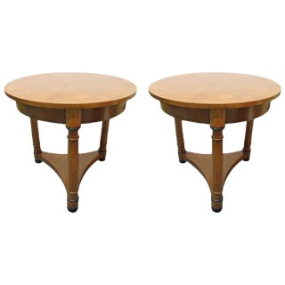 Pair of Gueridon Tables by Baker For Sale
