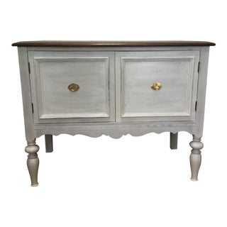 1930s Rustic Farmhouse Server Buffet For Sale