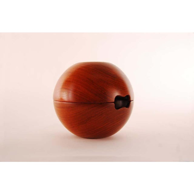 1950s Two Piece Teak Salad Bowl by Kay Bojesen For Sale - Image 4 of 9
